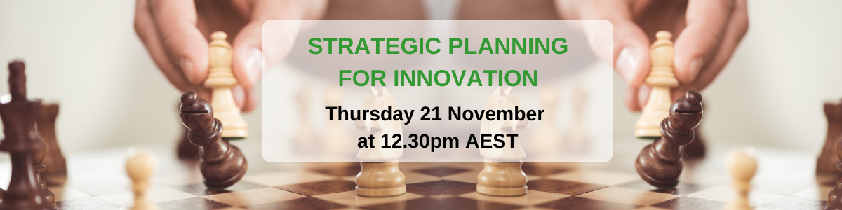 Strategic planning for business innovation in 2020