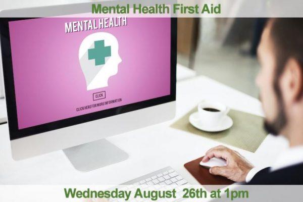 Mental Health Webinar image